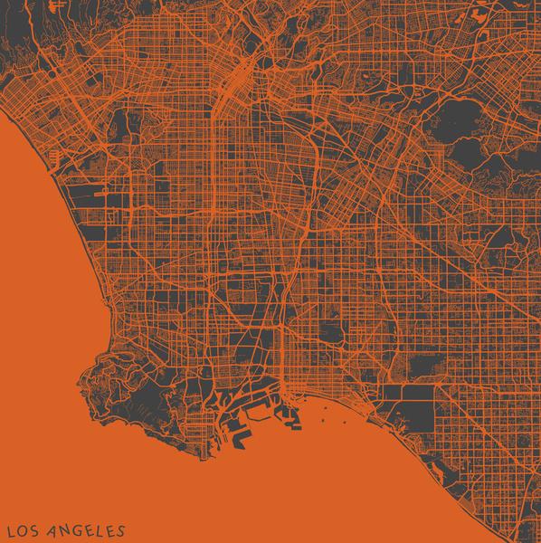 LA-Map map maps