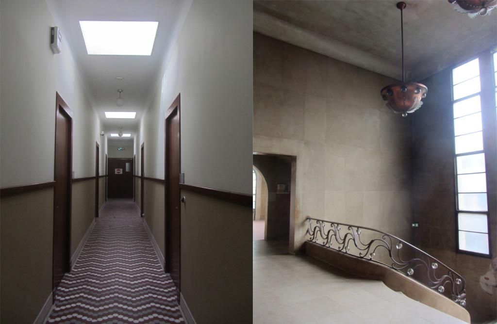Bourse du travail couloir et escalier