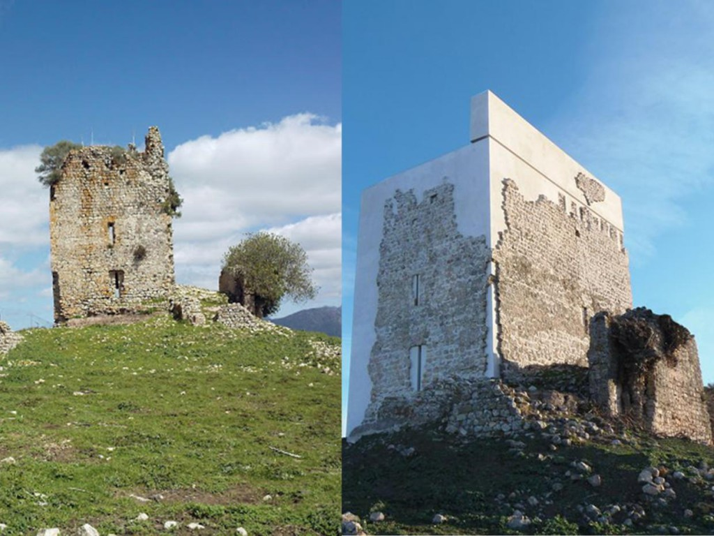 Matrera castle in Cádiz reopen the constrovercy about restauration